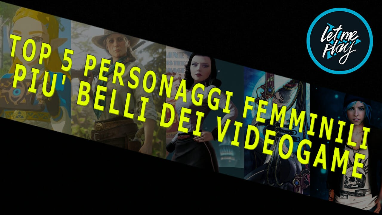 5 personaggi femminili dei videogame